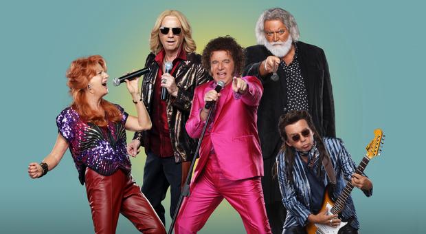 La mia banda suona il pop, Brizzi omaggia le reunion dei gruppi anni '80 con un super cast