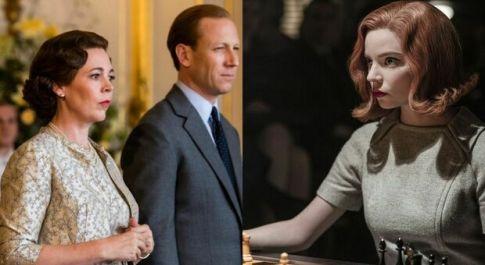 Emmy 2021, The Crown miglior serie drammatica: Netflix trionfa con 44 trofei (premiata anche La Regina di Scacchi)