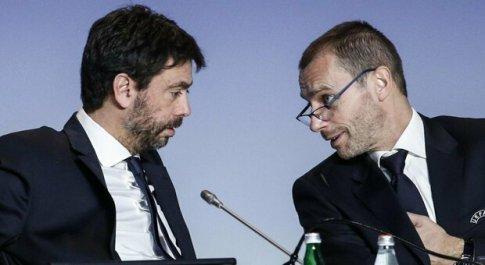 Superlega, l'ira di Juve, Real e Barça: «Intollerabili le minacce dell'Uefa»