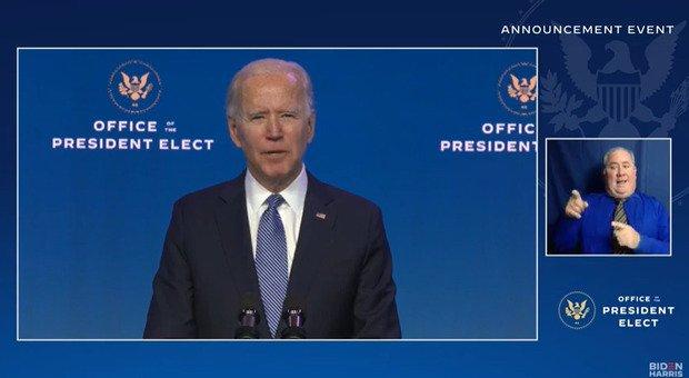Biden: «Trump ha incitato all'assalto, non è al di sopra della legge»