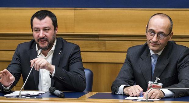 Lega, Salvini nomina il no-euro Bagnai: responsabile del dipartimento Economia