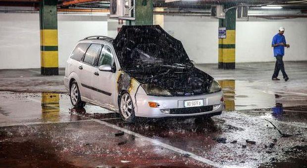 Latina paura al centro morbella a fuoco un 39 auto nel - Garage sotterraneo ...