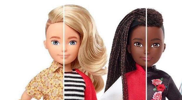 Mattel, arrivano le bambole gender free: «I bambini non vogliono che i giochi siano legati al genere»