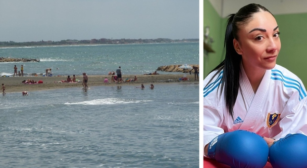 La campionessa di karate salva due bimbe in mare