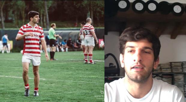 Virus, rugbysta positivo da 2 mesi: «Ai miei coetanei dico di fare ancora molta attenzione»