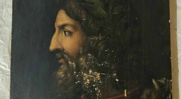 Uffizi, scoperto un misterioso ritratto di Romolo: nascosto da secoli nella soffitta di Palazzo Pitti