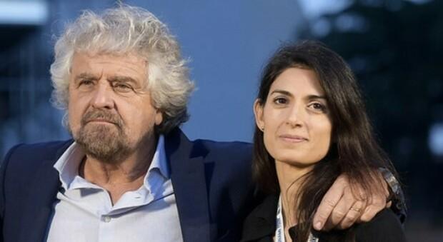 Roma verso le comunali, post di Grillo: «Massimo sostegno alla guerriera Raggi»