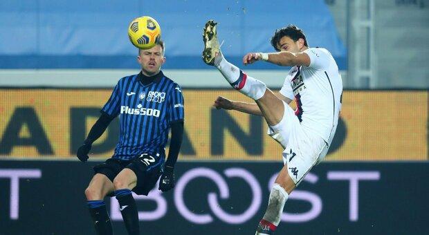 L'Atalanta frena la rincorsa Champions, il Genoa la ferma sul pareggio