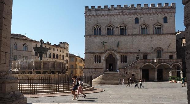 Palazzo dei Priori, sede del Comune di Perugia