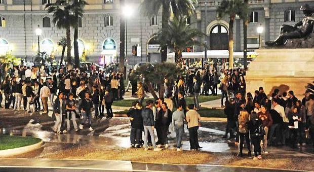 Piazza Cavour, il ritrovo must dei ragazzini di Roma nord
