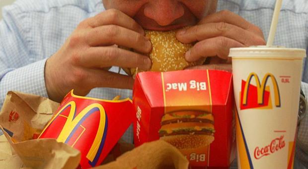 l uomo perde peso sulla dieta mcdonalds