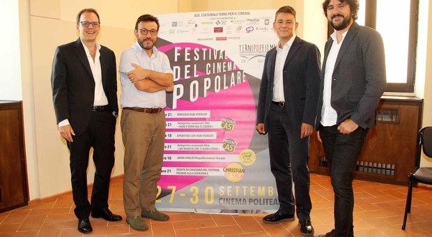 Antonio V. Spera, Andrea Giuli, Michele Castellani e Simone Isola