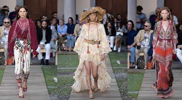 check out 69372 58c75 Aristocratiche e groupie, a Milano Moda Donna sfila la ...