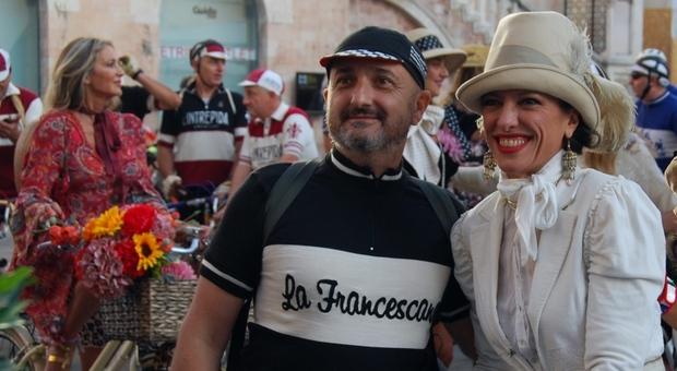 Foligno, tutti pazzi per le bici d'epoca. La Ciclostorica La Francescana lancia la ripartenza