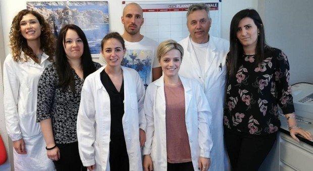 Il gruppo di studiosi perugini guidato dal professor Fiorucci