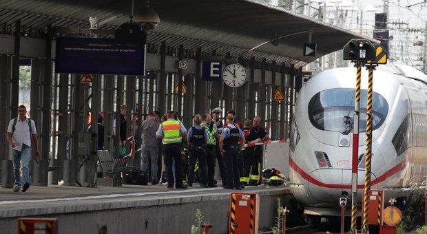 Francoforte, bimbo di 8 anni morto, spinto sotto un treno. Arrestato un eritreo di 40 anni .