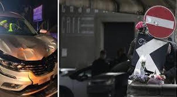 Incidente Corso Francia, due testimoni in auto con Genovese: