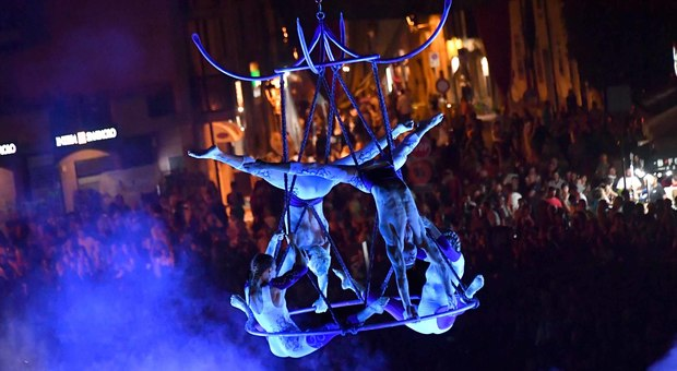 L'emozionante esibizione dei Sonics in piazza Vittorio Veneto, anteprima di