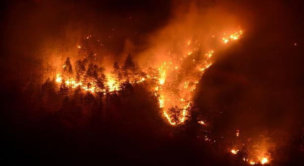Piemonte, resta l'allerta incendi. Chiamparino: «Non devo chiedere scusa»