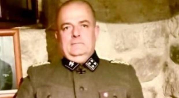 Foto con la divisa da SS: bufera su Gabrio Vaccarin, consigliere comunale di Fratelli d'Italia in Friuli