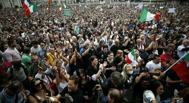 No Green pass a Roma, domani la manifestazione a Circo Massimo: sos infiltrati e obiettivi sensibili blindati