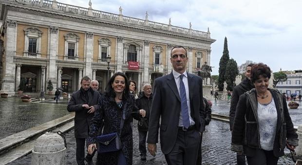 Marcello De Vito è tornato in Campidoglio dopo la scarcerazione: «Presiederà l'Aula»