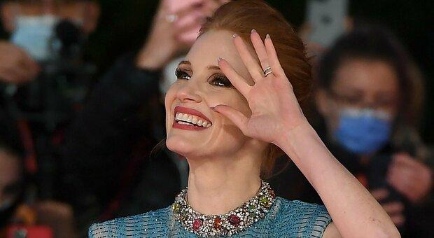 La Festa del Cinema di Roma si apre con Jessica Chastain. In sala anche Sergio Mattarella