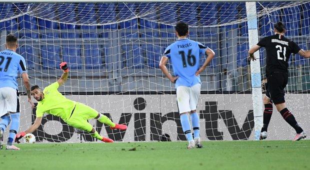 La Lazio crolla contro il Milan e la Juve va in fuga: +7