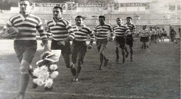 Rugby Roma celebra i 90 con una maglia speciale: è la squadra più titolata del centro sud Italia