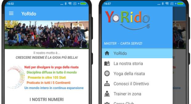 Nasce Yoridapp, l'applicazione gratuita per diffondere in Italia lo Yoga della risata