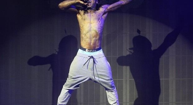 immagine Lil Wayne, venduta la casa con la laguna per gli squali da 10 milioni di dollari