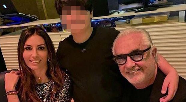 Flavio Briatore, Natale con l'ex Elisabetta Gregoraci e il figlio Nathan Falco a Dubai