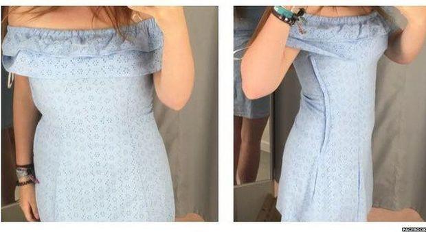 consistenza netta cerca genuino imbattuto x Il vestito da H&M le va stretto: «Taglie ridicole». Ma l ...