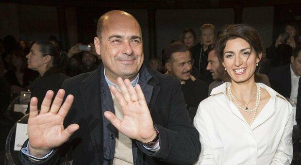 Roma, la sindaca Raggi: «Mai chiesto l'appoggio di Zingaretti per le elezioni»