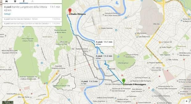 In autobus o in treno: ecco dove sono andati i ternani durante il lockdown secondo Google Maps