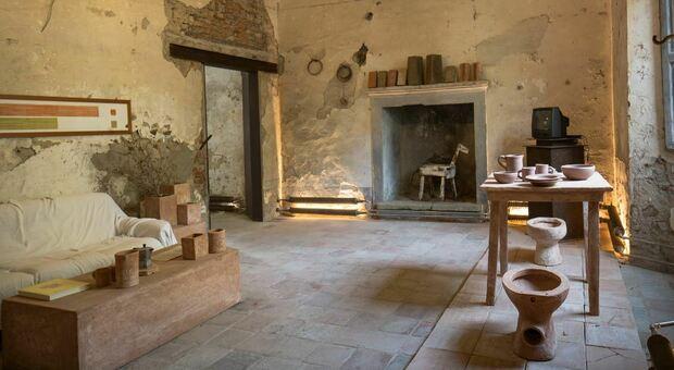 Una sala del Museo del Letame a Gragnano Trebbiese
