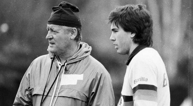 Nils Liedholm e Carlo Ancelotti