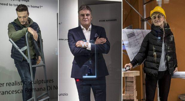 Roma, manager e commessi della Rinascente finiscono in vetrina, ma sono manichini