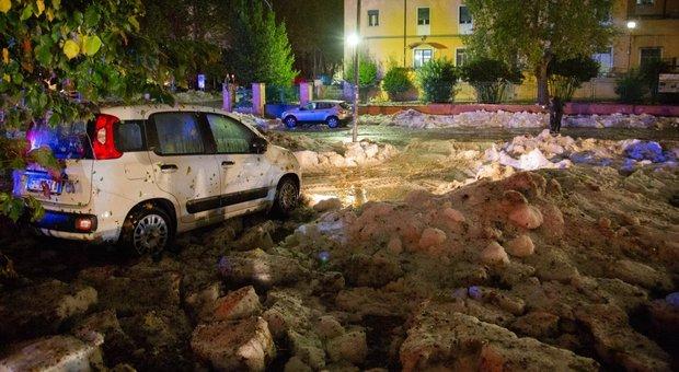 Grandinata record a Roma, perché è caduto ghiaccio dal cielo