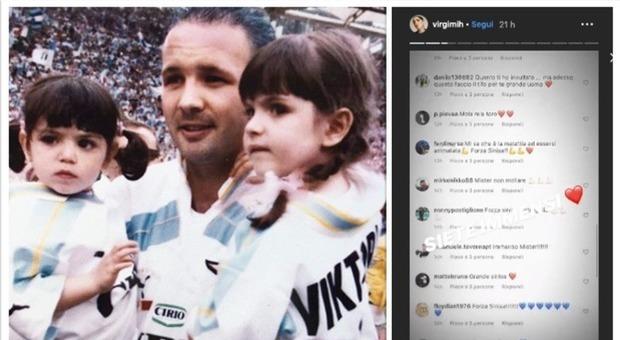 Mihajlovic, la dedica delle figlie su Instagram: il gesto commuove il web