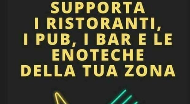 Dpcm, sui social scatta la solidarietà: «Sosteniamo i nostri ristoratori»