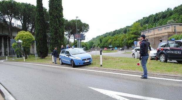 """Orvieto, controlli interforze nel fine settimana. Sotto la lente la statale 79 sede della """"La Castellana"""""""