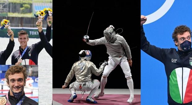 Medaglie azzurre oggi a Tokyo: canottaggio e Burdisso di bronzo, sciabola maschile d'argento