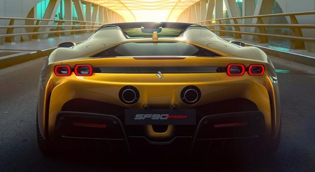 La Ferrari SF90 Spider
