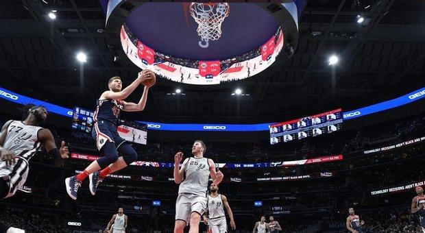 Nba, declino Spurs: per San Antonio di Belinelli settima sconfitta di fila