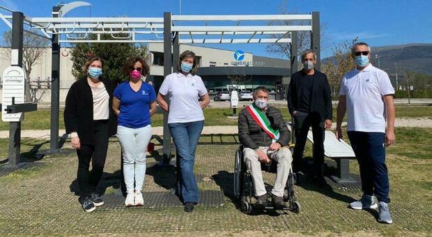 Cresce la palestra a cielo aperto per la comunità di Foligno