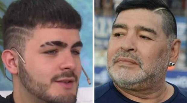 Maradona, il figlio non riconosciuto Santiago Lara a Live non è la D'Urso: «Chiedo il test Dna»