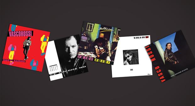 Vasco come non l'avete mai sentito: i primi 5 album del Blasco in edizione limitata su vinile