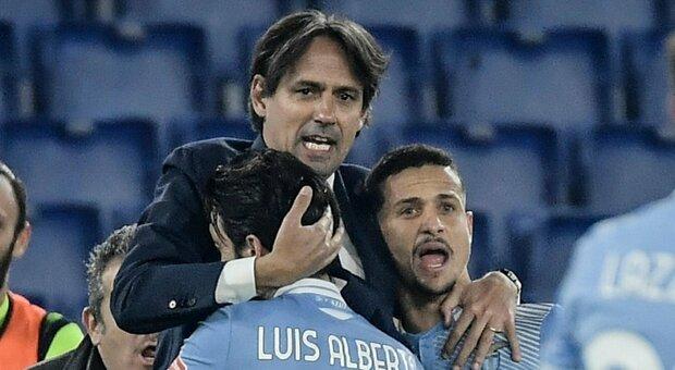 Lazio, Inzaghi: «Noi grandi contro le big. Il mio futuro? Mai dire mai...»