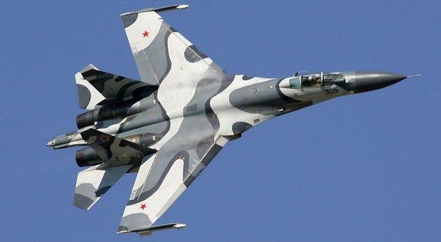 Caccia russo intercetta aereo italiano sul Mar Nero